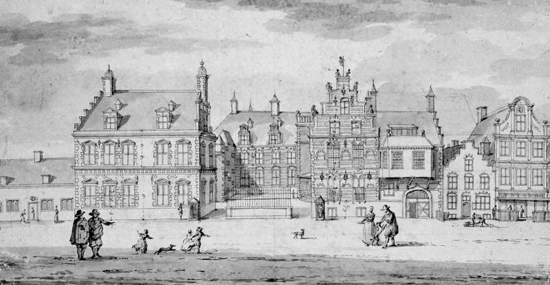 Stadtholderly court at Leeuwarden, 1688