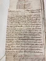 John Chamberlayne (Secretary) to Governor Robert Lowther regarding Codrington Estate